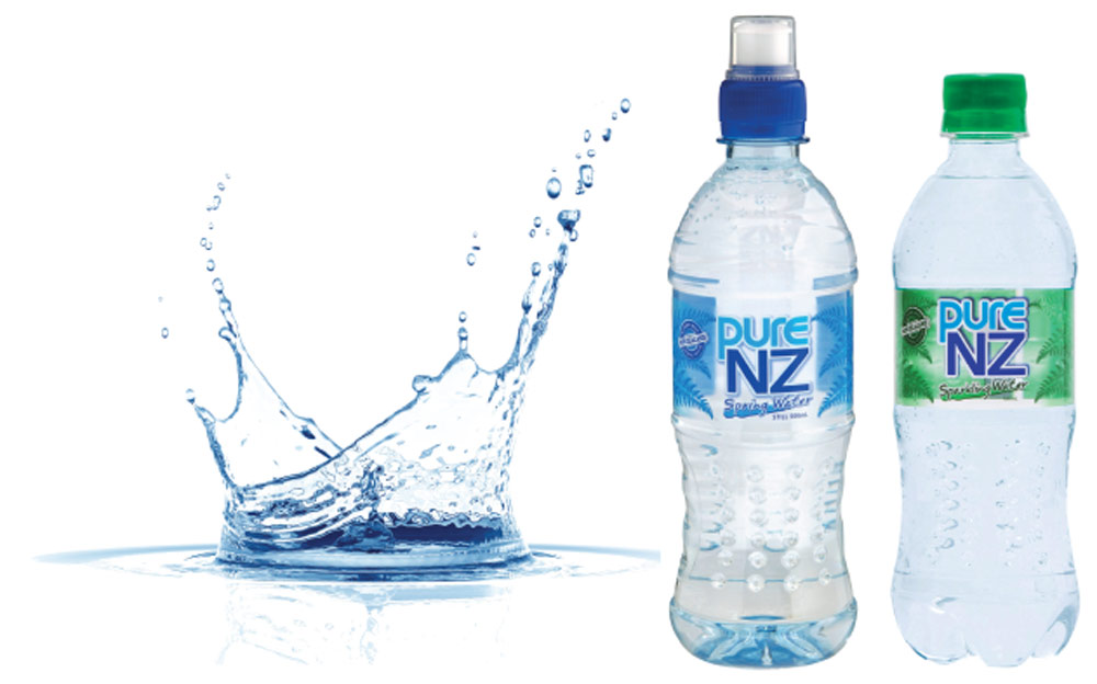 Pure NZ water Drinks